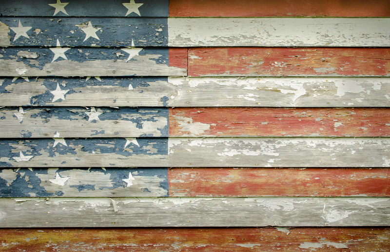 Abstract American Flag Backgrounds Close-up Concrete Day Design Detail Deterioration Fine Art Photography Full Frame Macro Michigan Natural Pattern No People Old Outdoors Part Of Patriotic Patriotism Pattern Textured  Weathered Wood Wood - Material