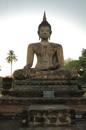 Blue Sky Buddha Buddhism Buddhist Buddhist Temple Cultures Day No People Outdoors Religion Statue Sukhothai Sukhothai Historical Park Sukhothaiheritage Sukhothaihistoricalpark Temple Temple - Building Temple Architecture Templephotography Temples Thai Thailand Thailand_allshots Tourist Attraction  Travel Destinations