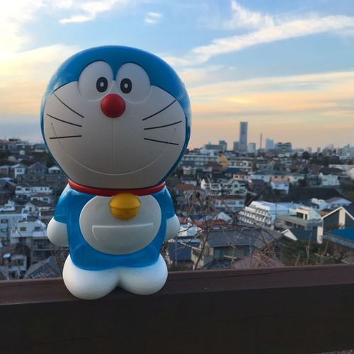 Doraemon in Yokohama Anime Animelover Architecture Building Exterior Built Structure City Cityscape Close-up Cloud - Sky Day Doraemon Japan Japanese  Japanese Culture Japanese Style No People Outdoors Sky Tourism Yokohama