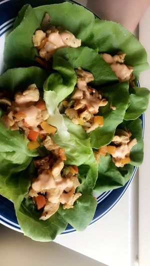 Lettucewraps Food Food And Drink Freshness Healthy Eating Wellbeing Indoors  Ready-to-eat