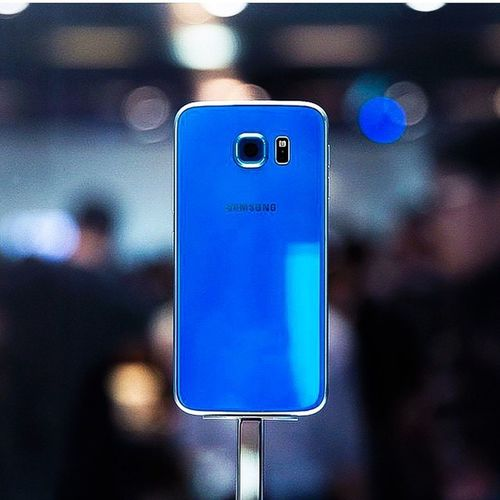 Samsung Galaxy S6 Blue Mwc Mobileworldcongress Blue Fashee5 New Mobile Android Androidfan Loveandrois Suckiphone