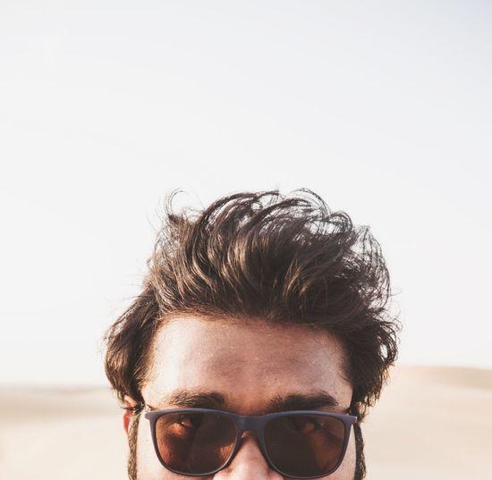 Ageing ... Travel Exploring Young Adult Man Forehead Ageing Hair Hairfall Rajasthan Desert Jaisalmer Dry Arid Climate Arid Landscape Portrait Thar Desert Portrait Headshot Human Face Looking At Camera Copy Space Close-up Sky Eyelash Natural Beauty Human Eye Sand Dune Iris Eyebrow Posing The Portraitist - 2019 EyeEm Awards The Minimalist - 2019 EyeEm Awards The Traveler - 2019 EyeEm Awards