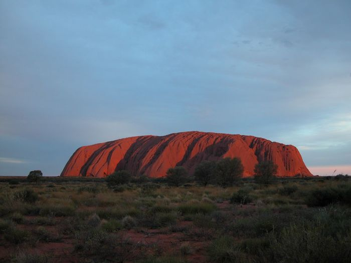 Red Centre Australia Outback Uluru Ayers Rock Northern Territory Sunset Stone Nikon Australian Landscape Sky Cloud - Sky Plant Landscape Scenics - Nature Beauty In Nature Environment Nature No People Land Non-urban Scene Rock Geology Outdoors Travel Destinations