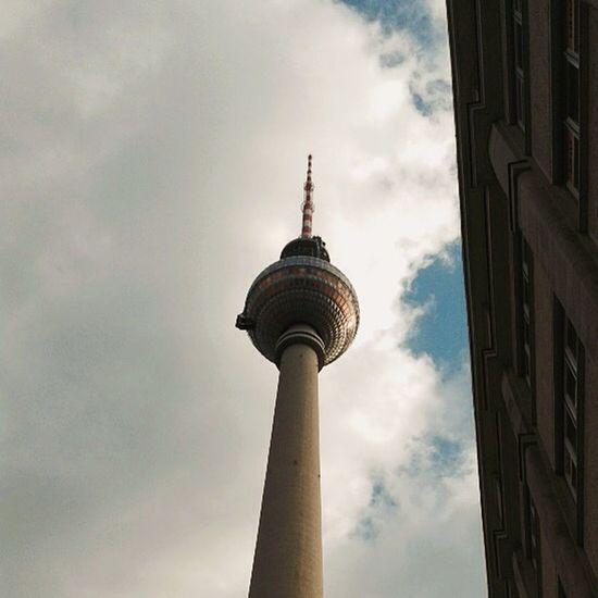 Fernsehturm/ TV Tower - Alexanderplatz Berlin Alexanderplatz Fernsehturm TV Tower