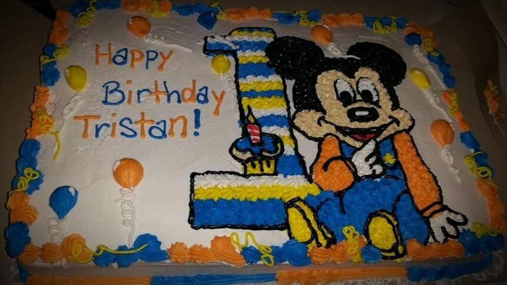 IDidThat Cake Decorator Birthday Icing Disney Mickey Mouse