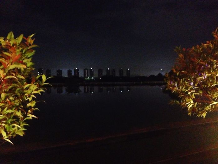 Water Night Architecture Nature Outdoors Built Structure Beauty In Nature