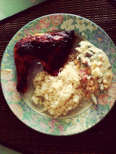 Food Porn Awards Chicken And Rice Pichaque Salad Delicious ♡ Foodporn