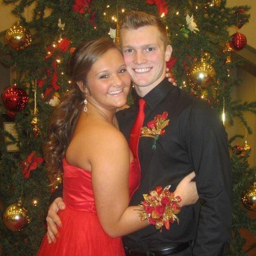 Zachery & Ally 10/13/14 I love these 2 so much 💑🎅💖🎄 SantaSwitch Chritmas Red Perfect Beautiful zachpate TrueLove