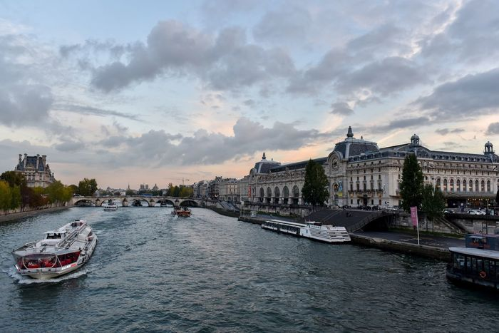 Architecture Building Exterior River Transportation Water Built Structure Nautical Vessel Sky Travel Destinations Mode Of Transport Cloud - Sky City Waterfront No People Bridge - Man Made Structure Outdoors Day Cityscape Paris Orsay