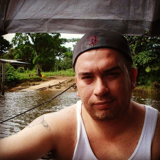 Transportation Looking At Camera Relaxation Front View Outdoors Scenics Suriname Southamerica Surinamese Suriname❤ People And Places. Fresh On Eyeem  NoEditNoFilter Mode Of Transport Beauty In Nature Wildlife Amazon Forest Amazon River Welcome Weekly Portrait Welcome Miles Away