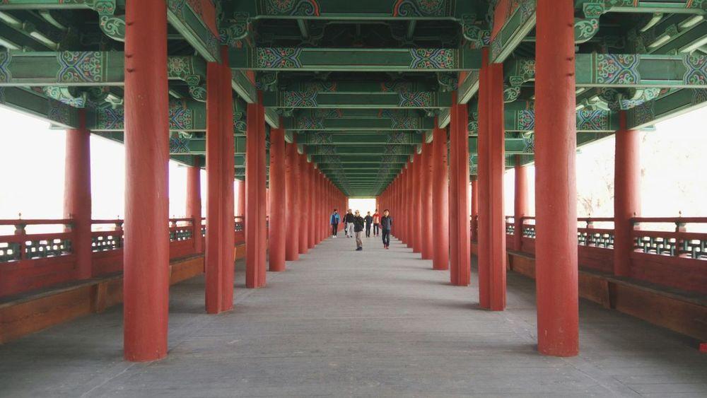 Architectural Column Bridge - Man Made Structure Symmetry Architecture Built Structure