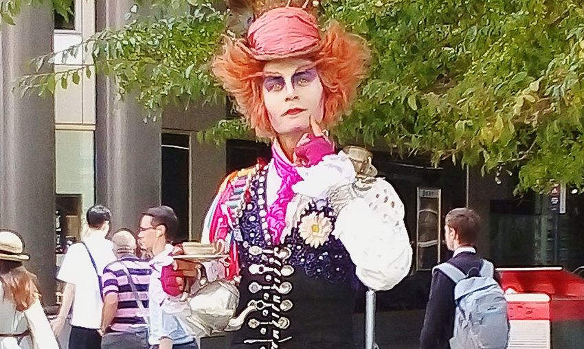 The Mad Hatter 🎩 TheMadHatter🎩 Headshot Face Mad Hatter 🎩 MadHatter🎩 Performance Arts Culture And Entertainment Performing Arts Event Wig Entertainment Occupation