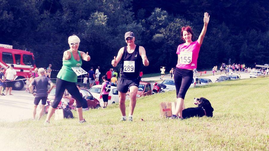 Maraton around the lake