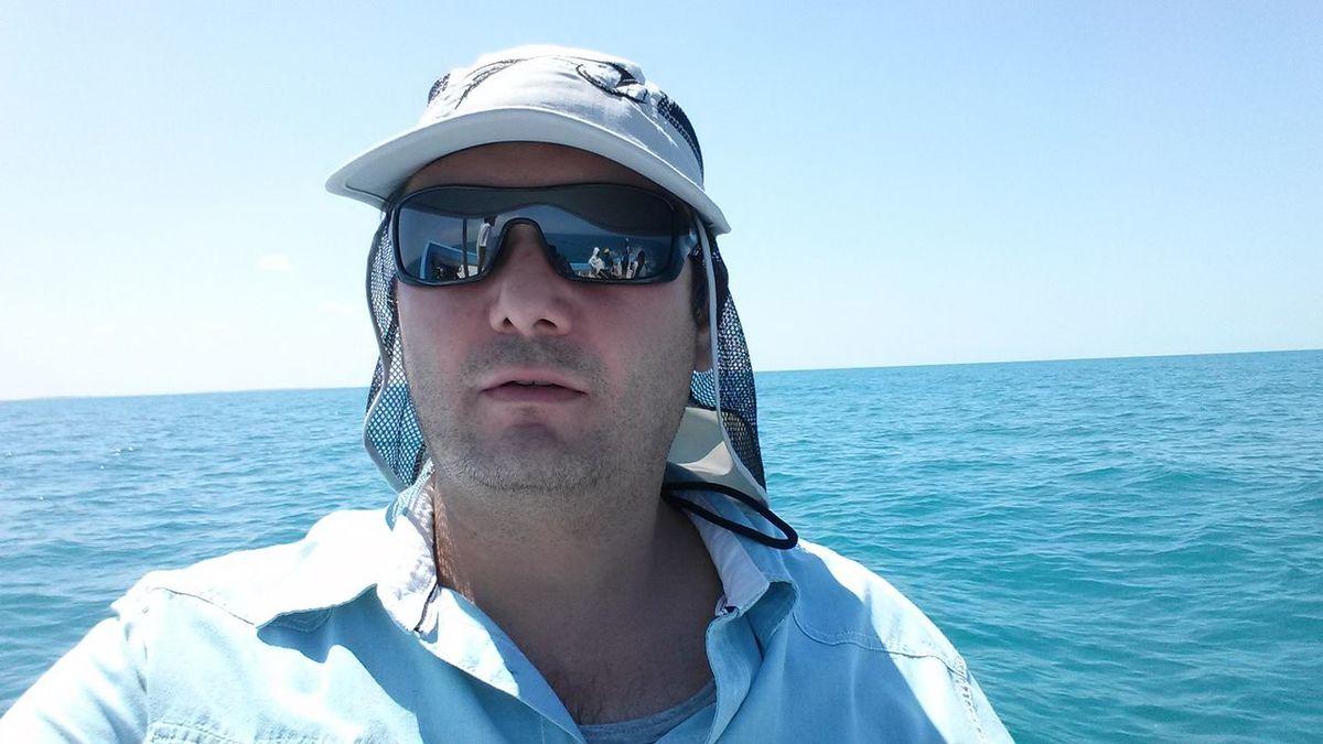 De pesca en Chuburna.
