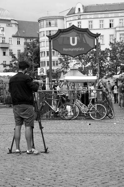 Street Life Berlin Hermannplatz U-Bahnhof Hermannplatz