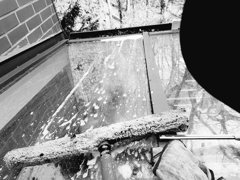 The Secret Spaces Onthedeck Work Working Hard Glass Springtime Nevergiveup Nextlevel Unger Blackandwhite
