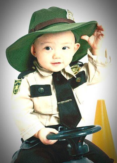 My little enforcer Throwbackthursday  Flashbackfriday MyLittleCop
