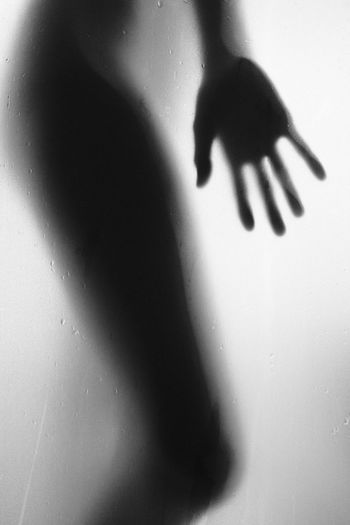 Wet Silhouette Hand Monochrome Blackandwhite Shadow Indoors