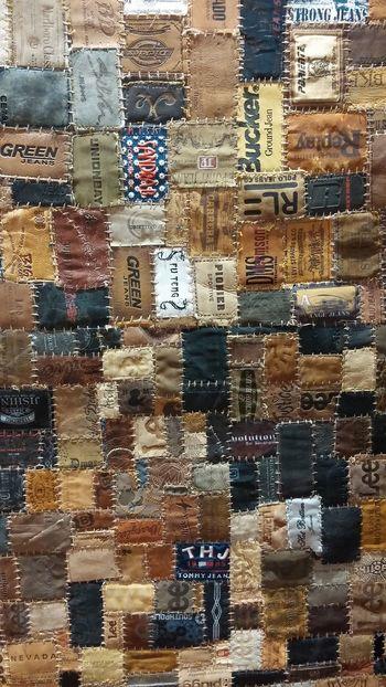 Carpet Modern Art Jeans Interior Design saw this cool carpet on display loox really gr8