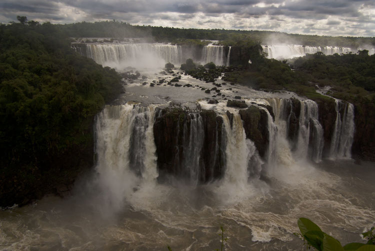 Brazil Latin America National Park Natural Wonders Of The World Tourist Attraction  World Heritage Beauty In Nature Flowing Flowing Water Iguazu Falls Nature No People Outdoors Scenics - Nature South America Travel Destinations Waterfall