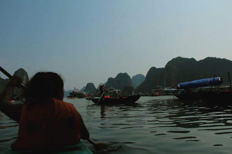 Ha Long Bay in Vietnam. Halongbay Vietnam Summer2015