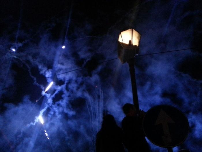 Luminara Fireworks Shades Of Blue