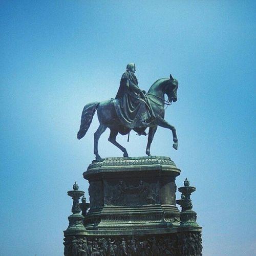 작센의왕 요한의청동기마상 Johann King ofsaxonyzwinger dresden germany europe 유럽 독일 드레스덴