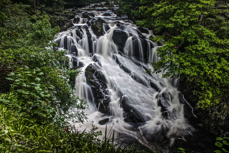 Waterfall In North Wales