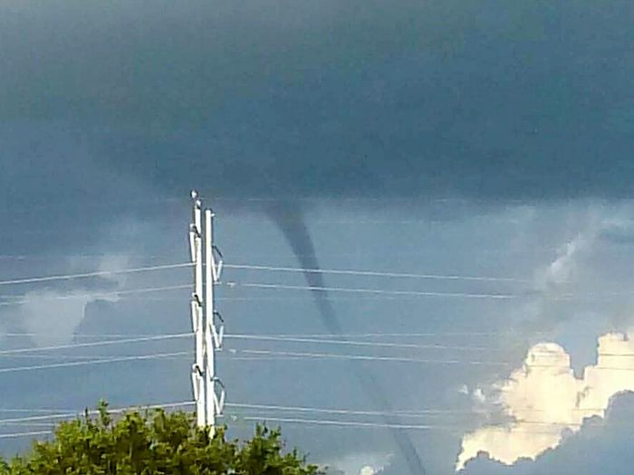 Waterspout Florida Storm Clouds Clouds And Sky Weather Bad Weather Twister Tornado Dark Skies Dark Sky Florida Summers Florida Storm Overcast Overcast Skies Dark Clouds Stormy Stormy Weather Storm Cloud Storm Clouds Storm Clouds Gathering Distance Outside Dangerous Pretty