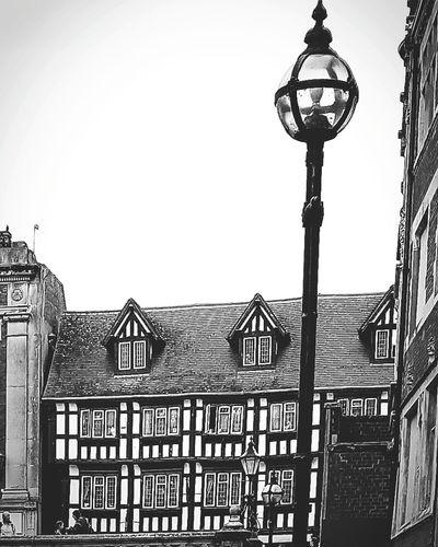 Black & White Building Exterior Architecture