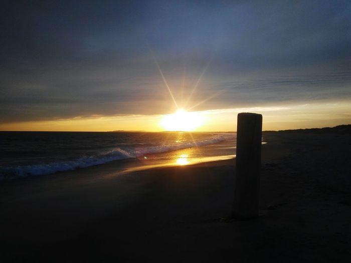 Sunset Sea Sun Water Horizon Over Water Tranquil Scene Scenics Beach Tranquility Beauty In Nature Sunlight Sky Idyllic Nature Sunbeam Outdoors Vacations Shore Non-urban Scene Majestic EyeEm Masterclass EyeEm Best Shots Exceptional Photographs EyeEm Gallery Remote