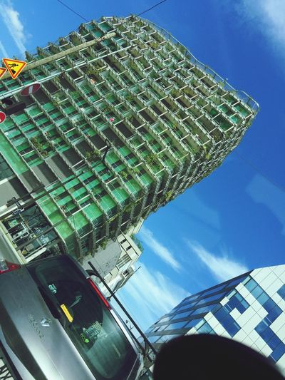 Built Structure Green Color