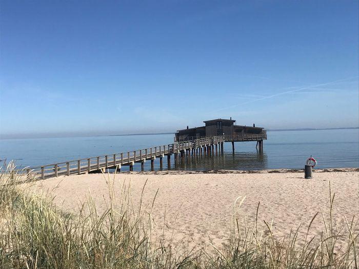 Beach Calm Sea