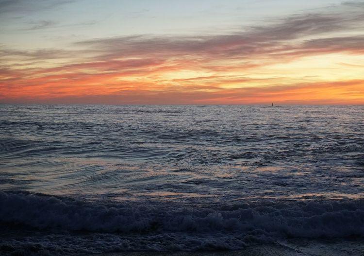 Endless possibilities. Sunset Sea Beach Dramatic Sky Cloud - Sky Moss Landing, CA Dusk Sky Dramatic Sky Horizon Over Water Be. Ready.