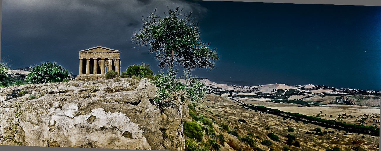 Archaeology Temple History Ruins Sicily Archaeology Valle Dei Templi Agrigento Magna Grecia Landscape