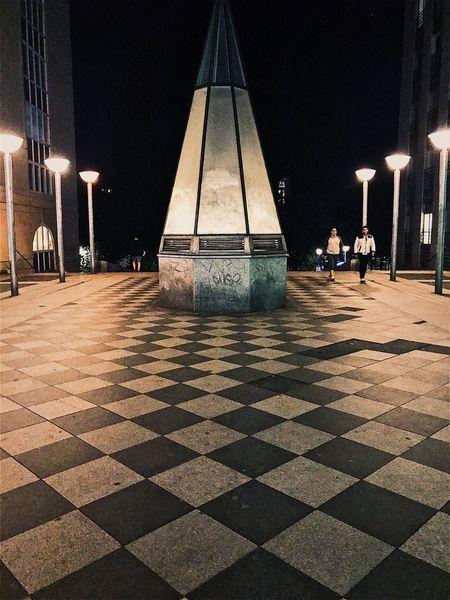 Night No People Illuminated Architecture Stockholm, Sweden