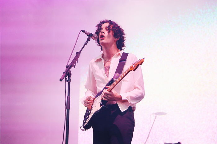 Matthew Healy of The 1975, Laneway 2016 (Singapore) Matty Healy Laneway Laneway Festival  Concert The 1975  Showcase: February Youth Of Today Concert Photography Music Portrait Portraits Portrait Photography Portrait Of A Man  Singapore Stage Band Guitar Music Festival Light Collection Light Pastel Pastel Power