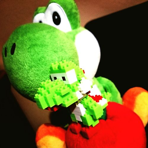 Yoshiiii Nintendo Geek Plush Super Mario WiiU Wii 3DS Fanboy