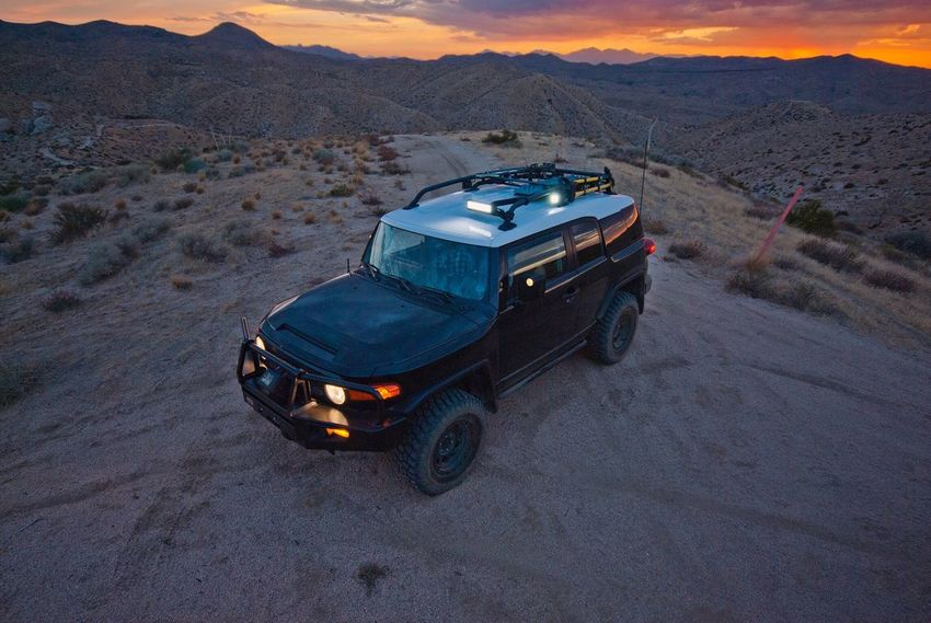 Toyota Fjcruiser FJC Land Cruiser Offroad Expedition Adventure Camping 4x4 Mountain Outdoors