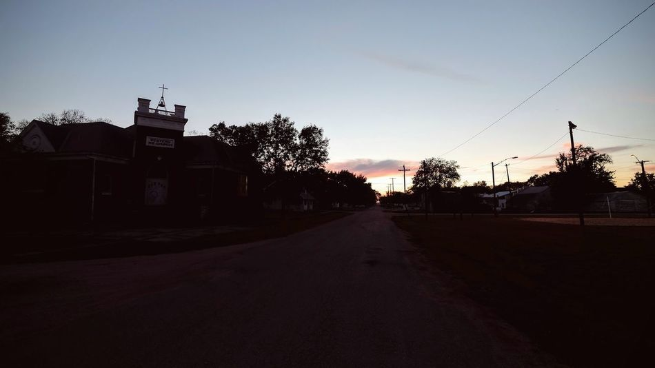 Village Park - Western, Nebraska October 2016 A Day In The Life Abandoned Places At The Park Celebration Church Community Dusk Empty Road Low Light My Neighborhood Outdoors Party Photo Potluck Rural America Silhouette Small Town America Small Town Stories Tranquil Scene Village Walking Around
