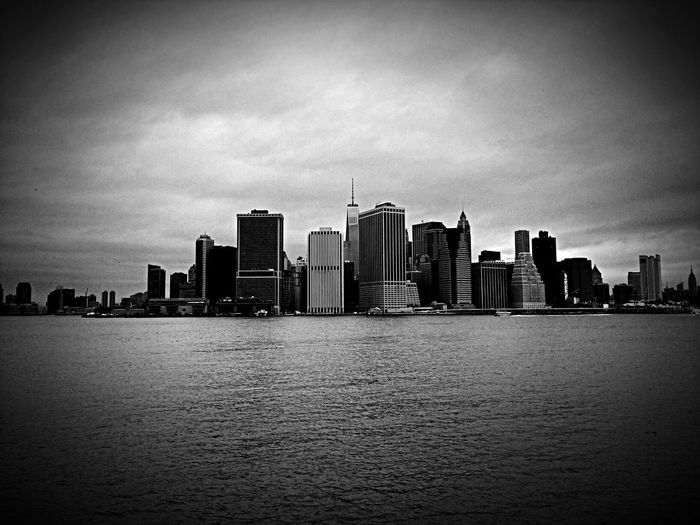 Skyline Architecture NYC Manhattan Cityscapes Monochrome Amazing View La foto...