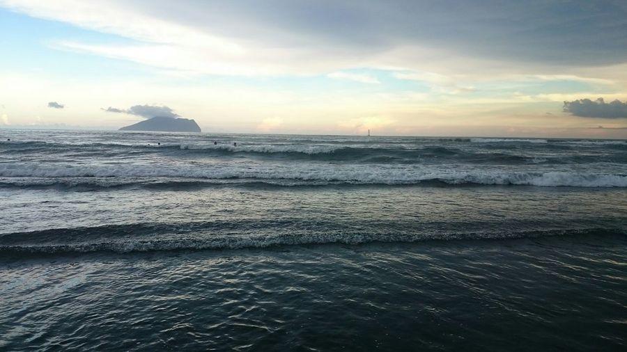 好久沒來海邊 Sea Relaxing Taking Photos Enjoying Life IsMyLife