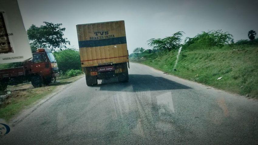 Taking Photos on road sight....