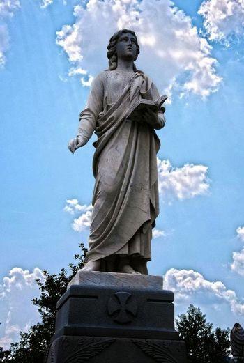 Oakland Cemetery, Atlanta Georgia Cemetery HDR