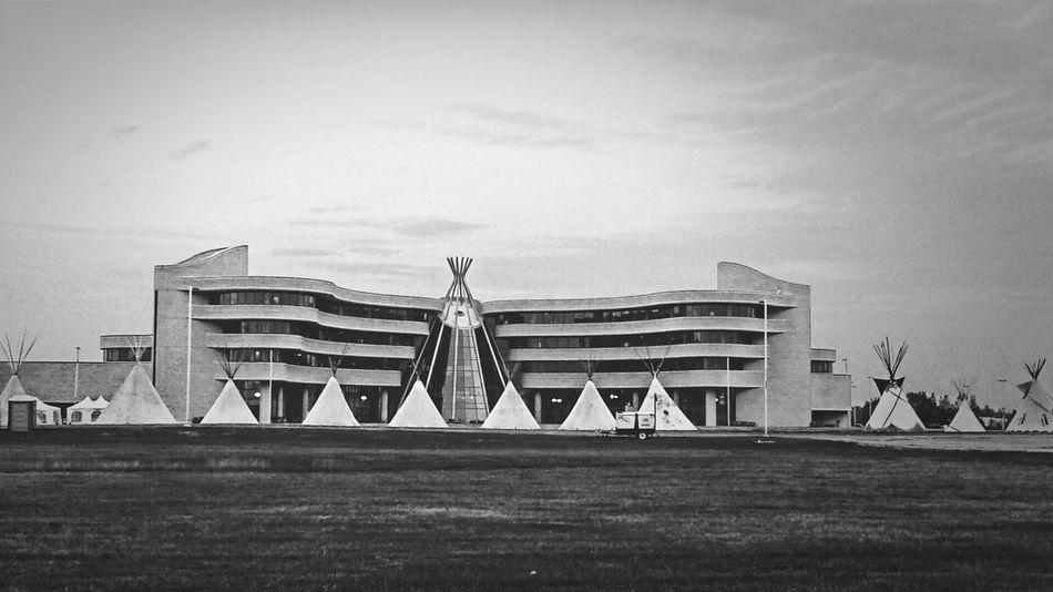NAIG 2014 Regina SK. team ontario 2014 Eye Em Around The World Tipi Native American Indian B&W Collection