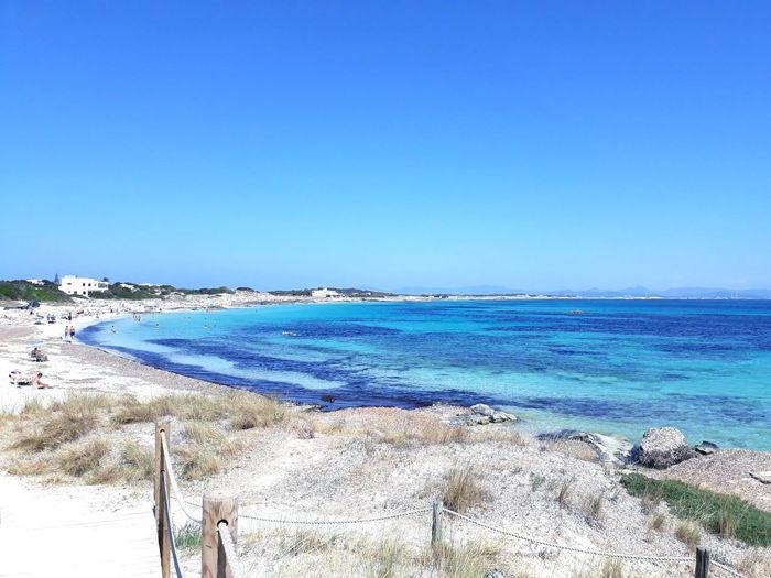 EyeEmNewHere EyeEmNewHere Water Clear Sky Sea Beach Blue Sand Summer Sunny Sunlight Sky