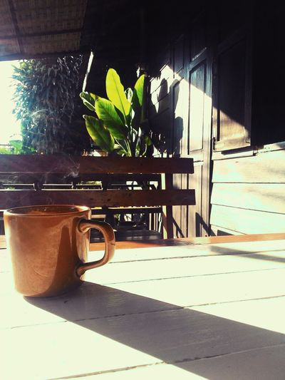 Good Morning Morning Light Morning Coffee Coffee Time Coffee In Thailand Peaceful Place Light And Shadow