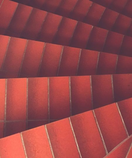 Full Frame Red Backgrounds Close-up Indoors  Textured  Geometric Shape Repetition Large Group Of Objects No People