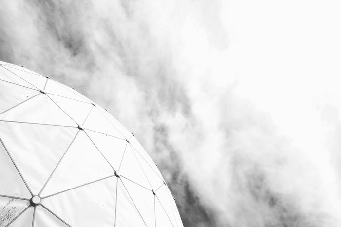 Negative Spaces Architecture Abandoned Places Geometric Shape Architecture_bw Urban Geometry Urban Details Sky Cloud - Sky Triangle Architectural Detail Skylight Building Architectural Feature