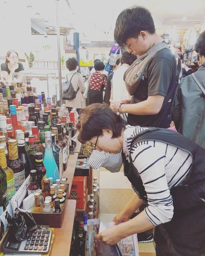Don't know why he's into hard Liquor. He said its a third the price in singapore German Liquor My Son Namdemun Market Korean Market Seoul Market Tripwithson2017 Streetphotography Seoul Streetphotography Tripwithsonmay2017 Seoul South Korea